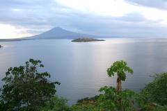il grande lago di Nicaragua