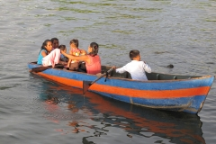 the boat as a means of transport