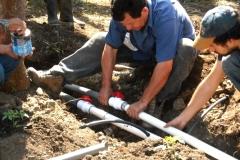 canalisations pour les jardins