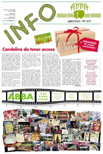 INFO – Édition Novembre 2011