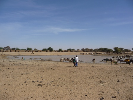Bouli, the water reserves for the dry season